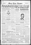 Bee Gee News January 25, 1939