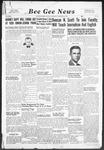 Bee Gee News January 25, 1939