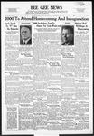 Bee Gee News October 18, 1939