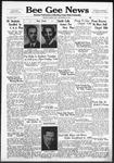 Bee Gee News September 25, 1940