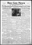 Bee Gee News October 9, 1940