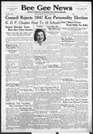Bee Gee News October 23, 1940
