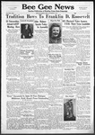 Bee Gee News November 6, 1940