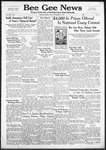 Bee Gee News December 11, 1940