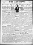 Bee Gee News April 9, 1941