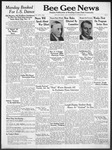 Bee Gee News October 29, 1941