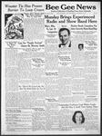 Bee Gee News November 12, 1941