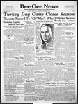 Bee Gee News November 19, 1941