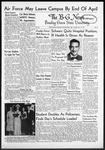 The B-G News November 13, 1951