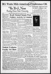 The B-G News February 29, 1952