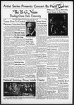 The B-G News March 14, 1952