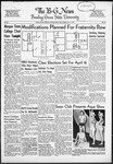 The B-G News April 1, 1952