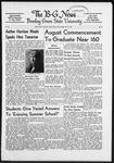 The B-G News July 24, 1952