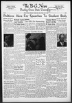 The B-G News October 10, 1952