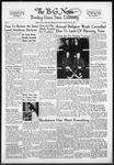 The B-G News November 25, 1952