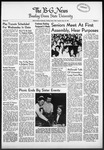 The B-G News September 28, 1954