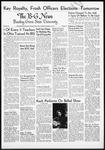 The B-G News November 16, 1954