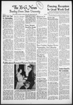 The B-G News May 20, 1955