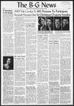 The B-G News December 14, 1956