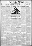 The B-G News January 15, 1957