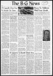 The B-G News January 18, 1957