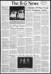 The B-G News March 19, 1957