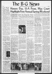 The B-G News May 17, 1957