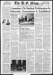 The B.G. News November 22, 1957