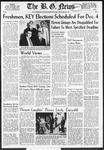 The B.G. News November 25, 1957