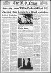 The B.G. News January 14, 1958