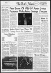 The B-G News November 4, 1958