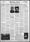 The B-G News November 14, 1958