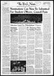 The B-G News February 13, 1959