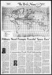 The B-G News May 3, 1960