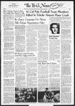The B-G News November 1, 1960