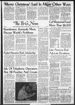 The B-G News December 9, 1960