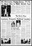 The B-G News March 12, 1963