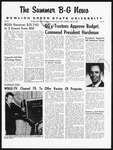 The Summer B-G News July 25, 1963