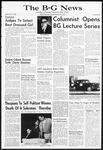 The B-G News November 19, 1963