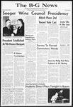 The B-G News March 20, 1964
