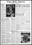 The B-G News May 28, 1965