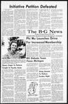 The B-G News November 12, 1965