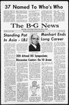 The B-G News January 13, 1966