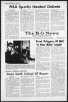 The B-G News November 18, 1966