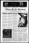 The B-G News December 13, 1966