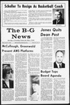 The B-G News March 3, 1967