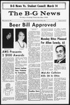 The B-G News March 10, 1967