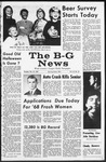 The B-G News October 31, 1967