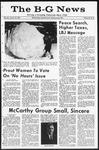 The B-G News January 18, 1968