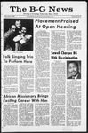 The B-G News March 8, 1968